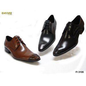 NWB Encore Fiesso BLACK Snake Leather Shoes FI3105
